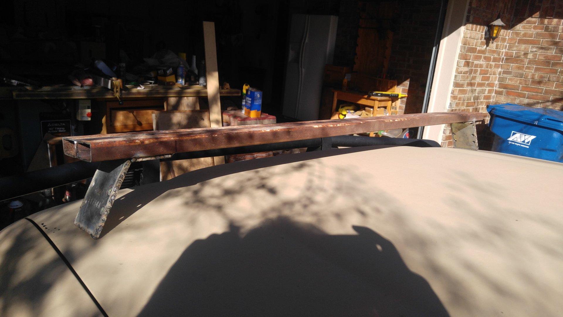 New Low Profile Gutter Mount roof rack | IH8MUD Forum