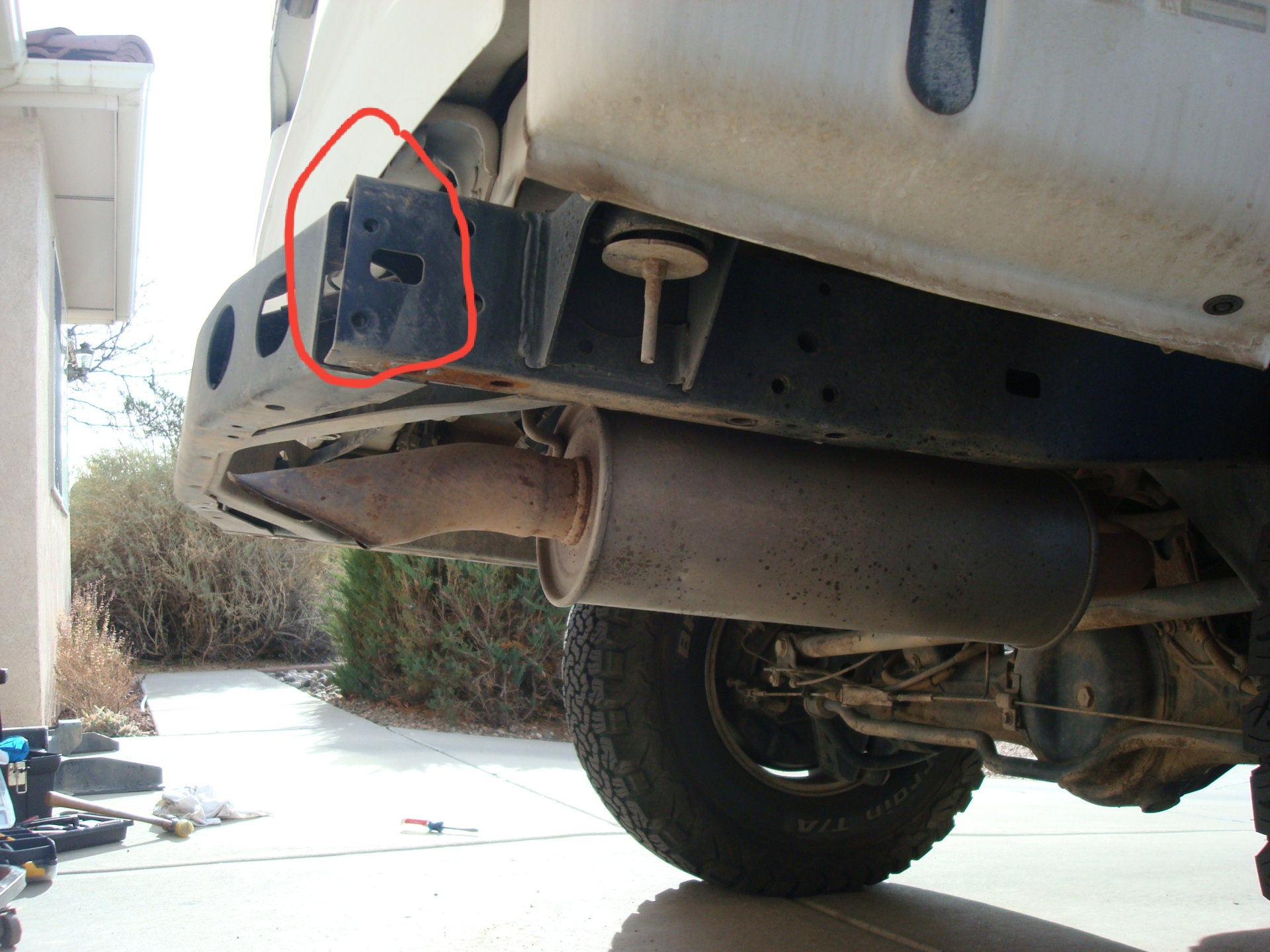 Starter Repair Near Me >> BIO Rear Bumper Install and Air Lift 1000 Repair | IH8MUD ...