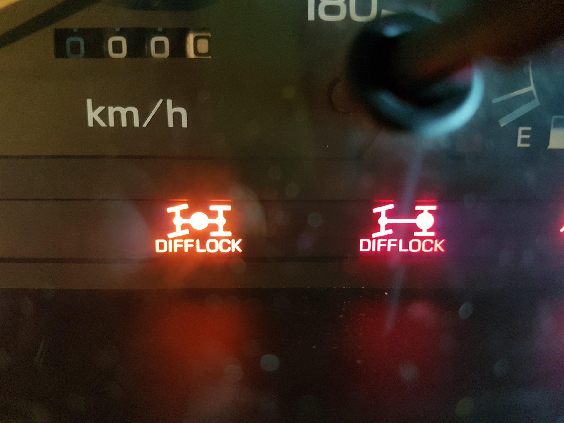 Harrop E Locker Using Oem Switch And Dash Lights In A Hdj81 Fj80 Tacoma Wiring Harness 20180310 170727