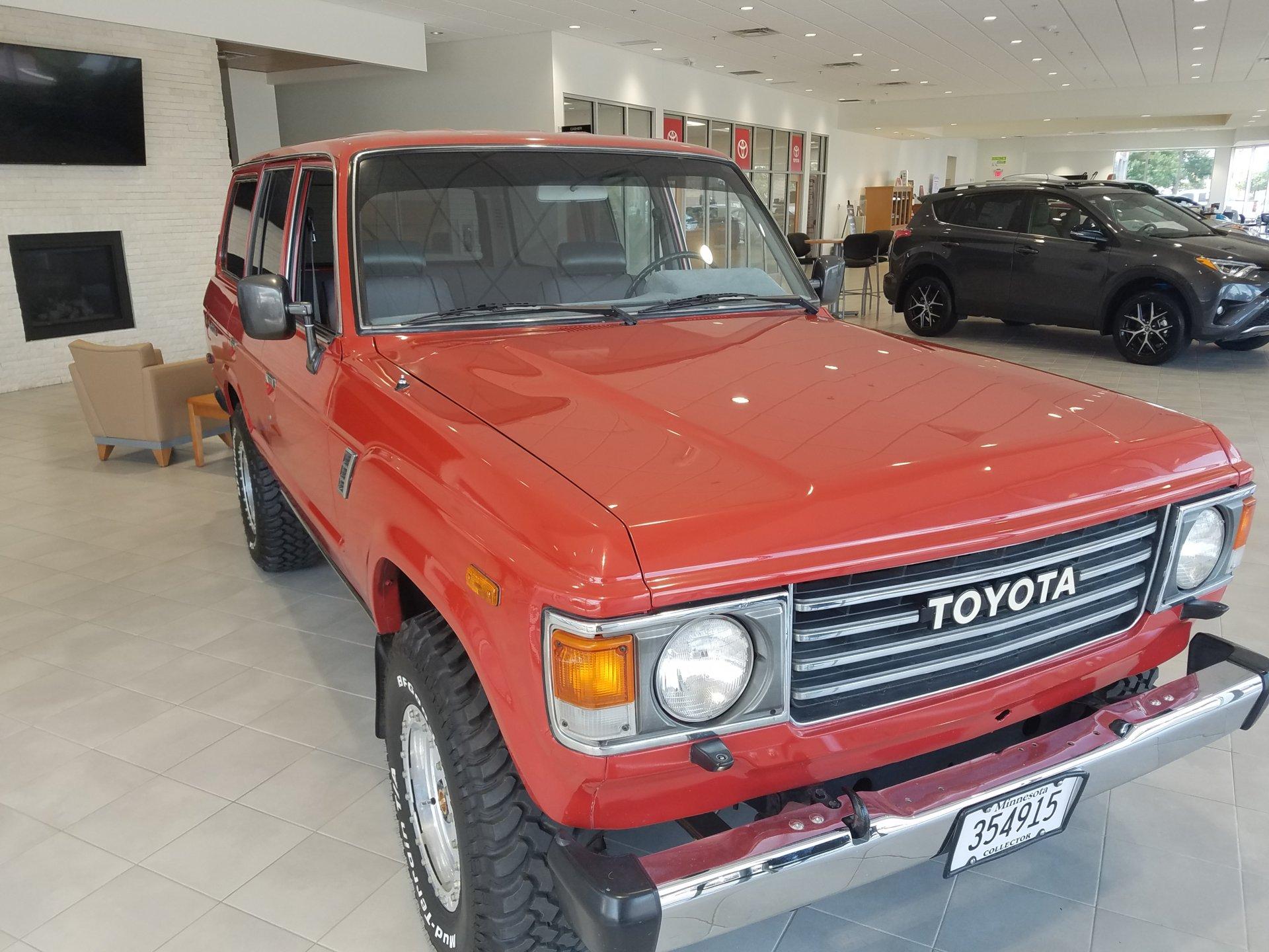 For Sale 1986 Toyota Land Cruiser 4 spd
