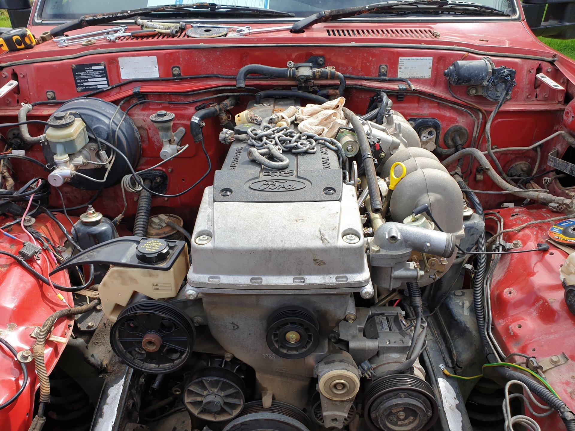 Fordota - FJ80 Ford Barra conversion | IH8MUD Forum