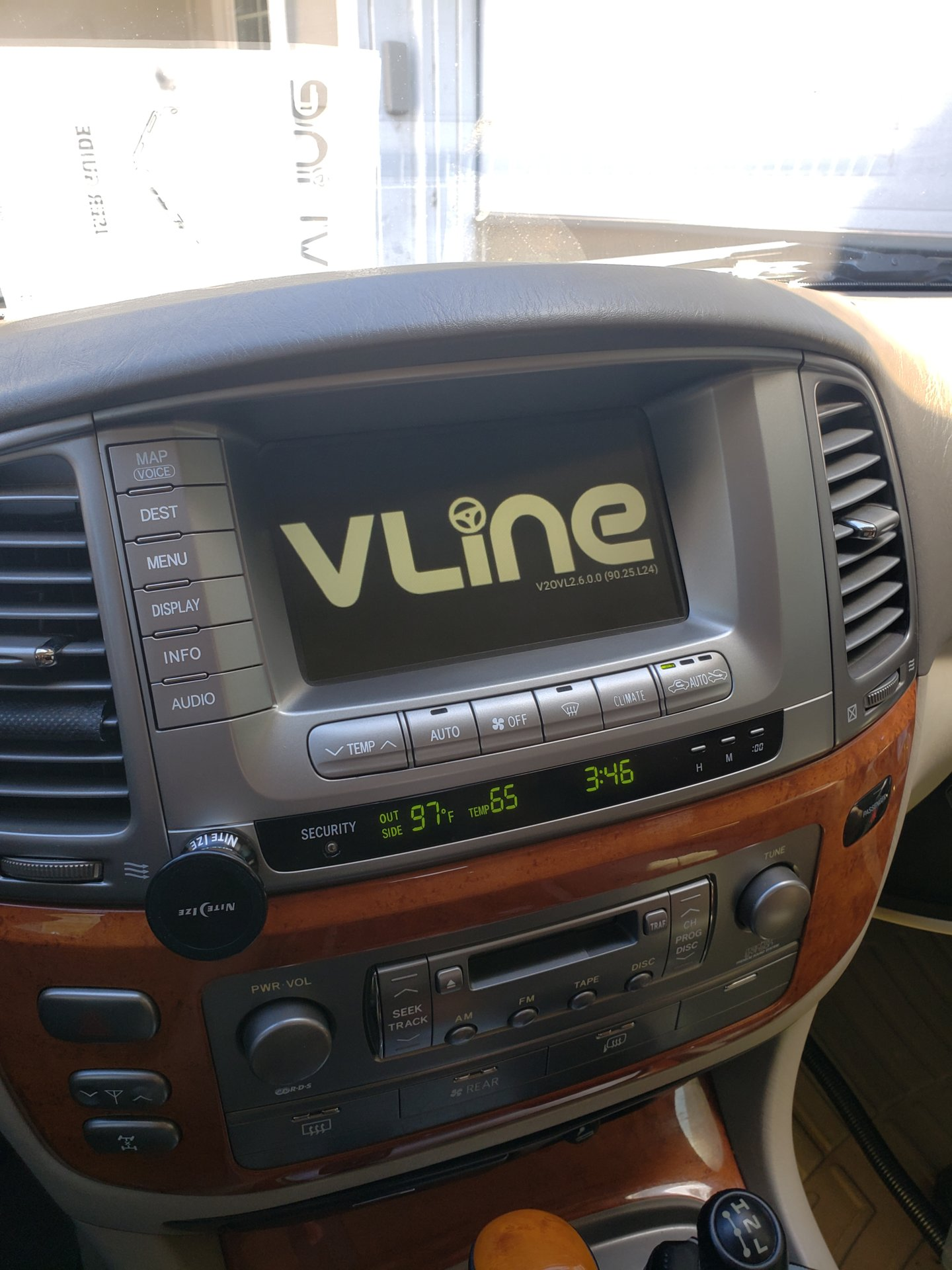 Update on GROM vline infotainment system for 2003 LX470