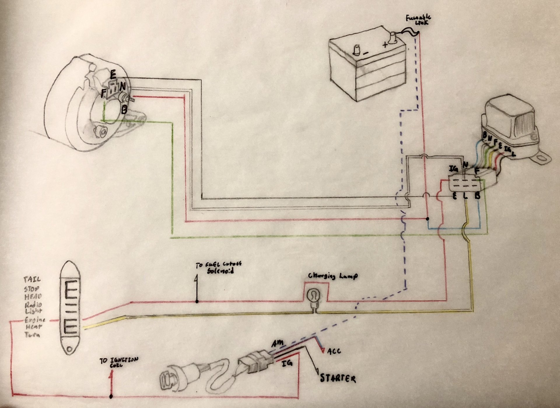 Ingram Voltage Regulator Wiring Diagram