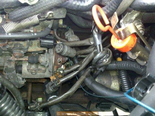 92 Lj78 Prado Efi Fuel Pump Changed To Manual Pump Very