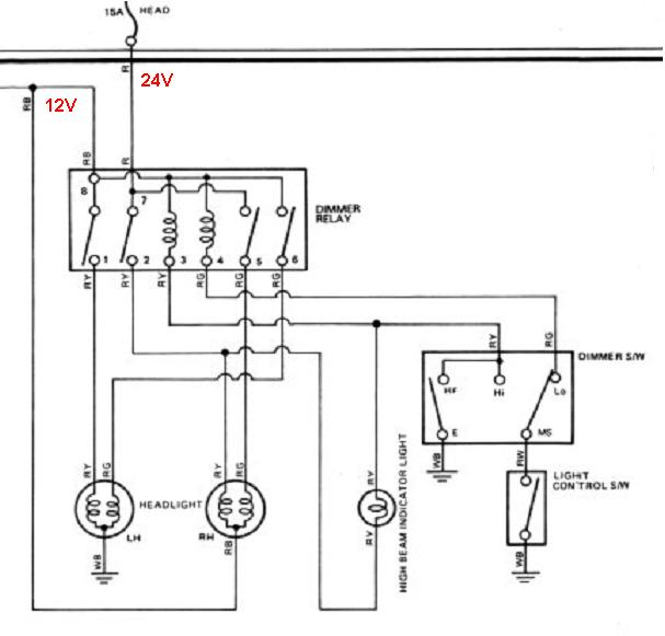 These are 2 separate circuits which have one relay in common rudi