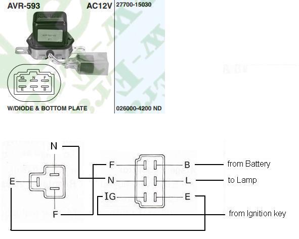 external voltage regulator wiring diagram wiring diagram and volvo motorola alternator external regulator wiring diagram