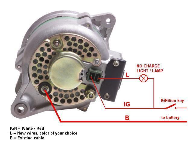 Wiring Diagram Alternator Isuzu Panther : Voltage regulator ext how it works page ih mud