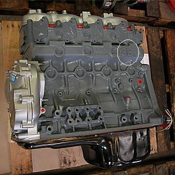 B-series & H-series landcruiser Engine-Serial-Number/VIN-Number