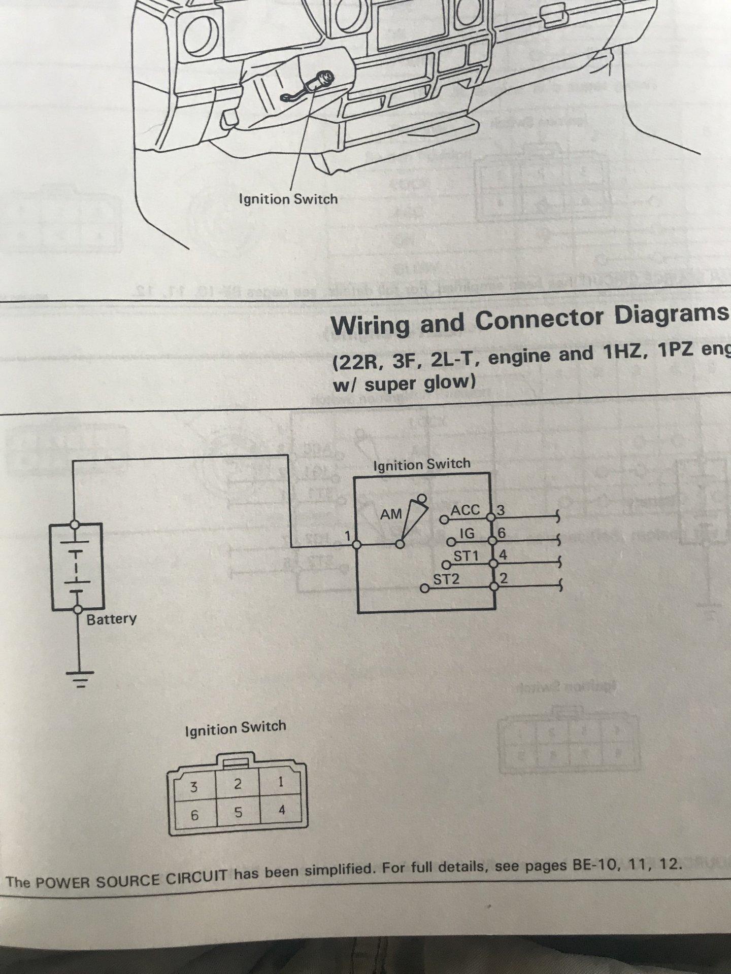 Pls Help  Need Ignition Barrel Wiring Diagram