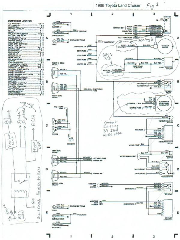 h4 headlight wiring diagram toyota
