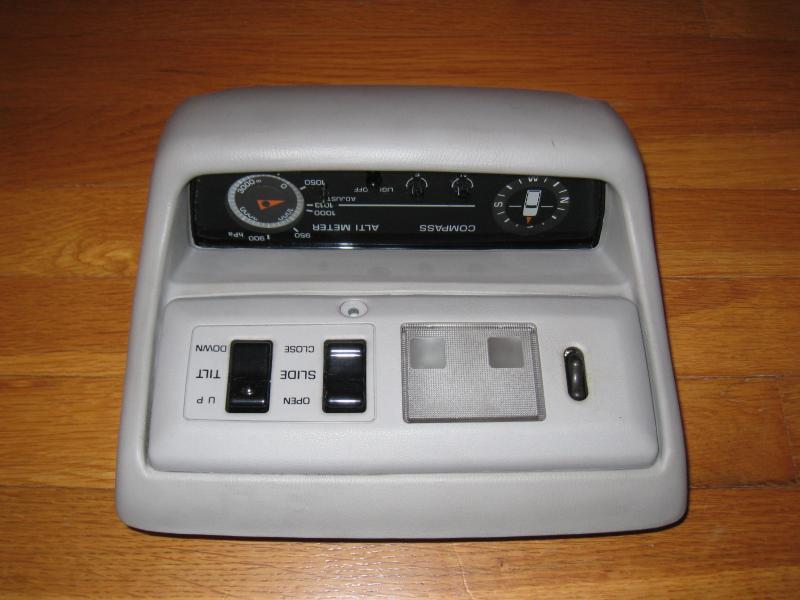 For Sale Oem Jdm 80 Series Overhead Console Altimeter