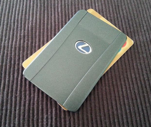 Check Out The New Credit Card Lexus Key Fob Ih8mud Forum