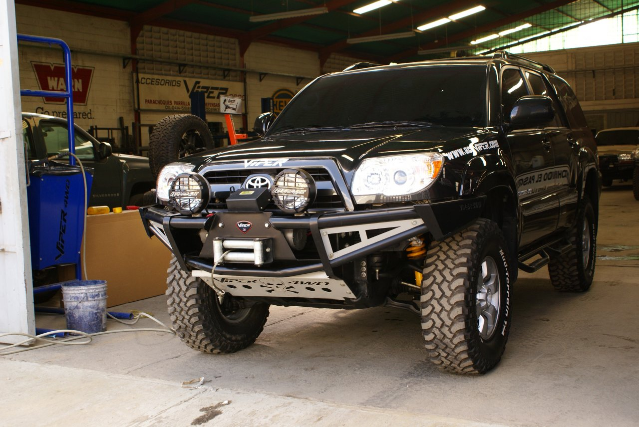 VPR 4x4 Toyota Bumpers, Racks, Sliders and much more ...