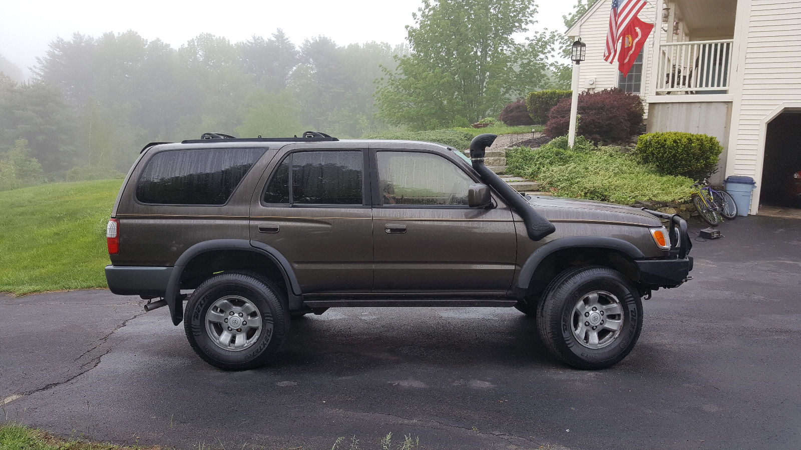 Just picked up lifted 1997 4Runner-Desert vehicle for 12+ years was