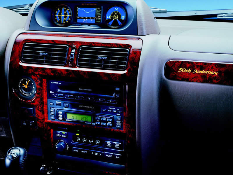 """Exclusive equipment incuded: grey interior with """"50th Anniversary"""