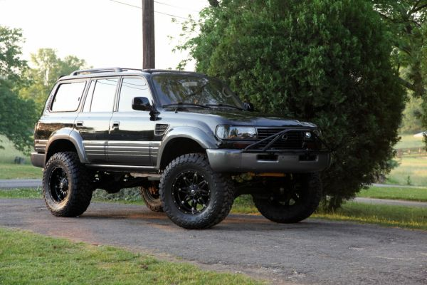 For Sale 1997 Lexus Lx450 Factory Lockers Lifted