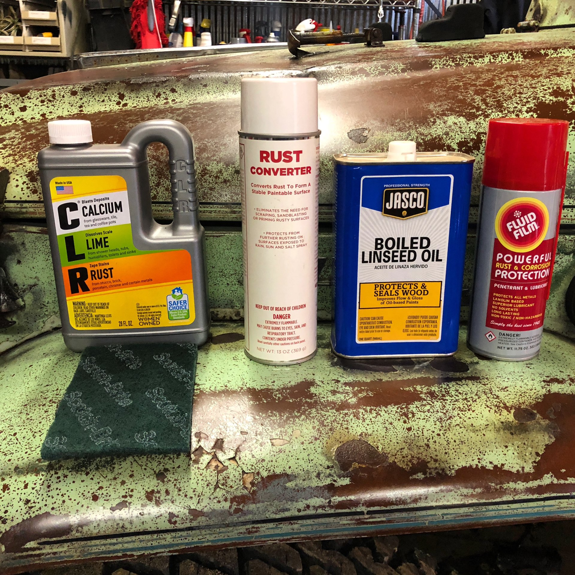 Preserving Patina - How To Tips and Tricks   IH8MUD Forum