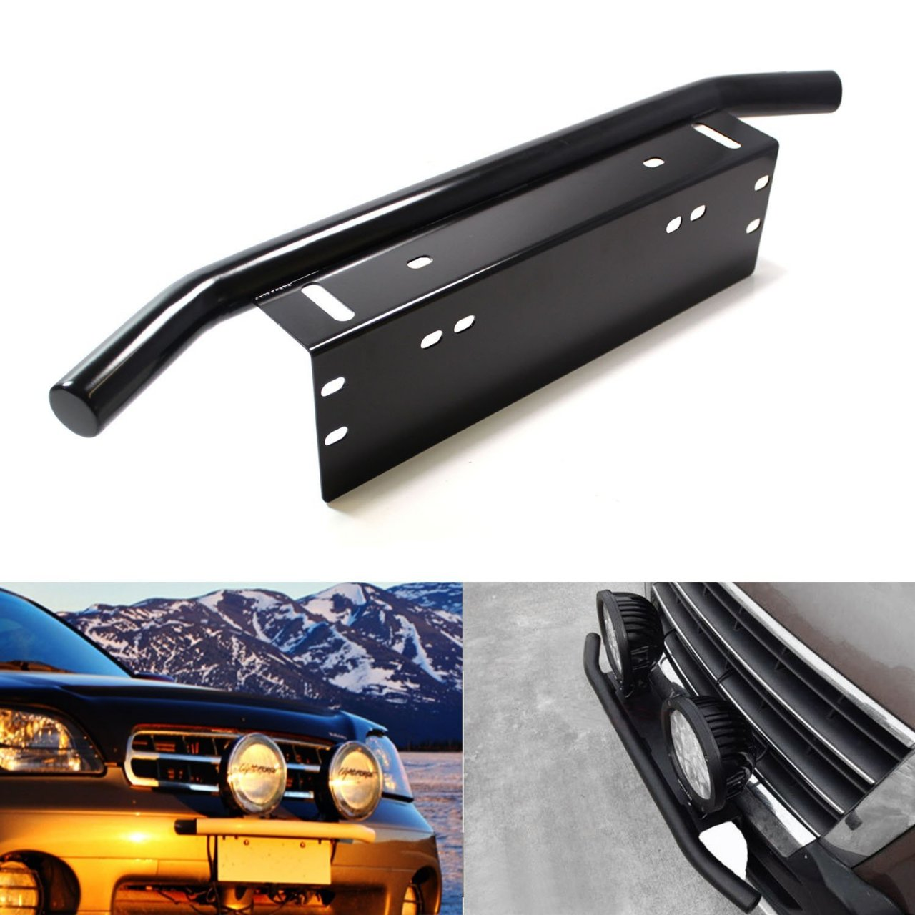 Front License Plate Bracket Light Bar Anyone Use This