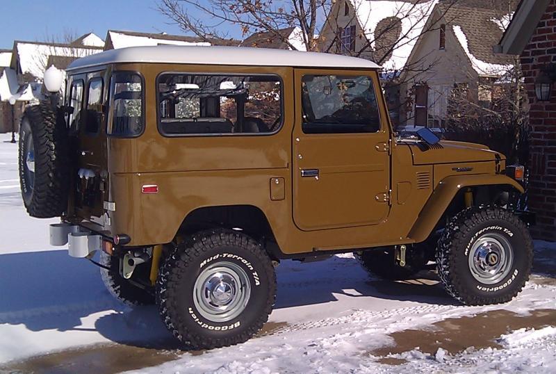 White Tire Paint >> Original wheels on 1978 FJ40? | IH8MUD Forum