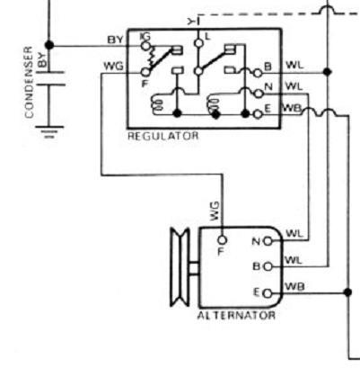 toyota voltage regulator wiring diagram wiring diagram specialties