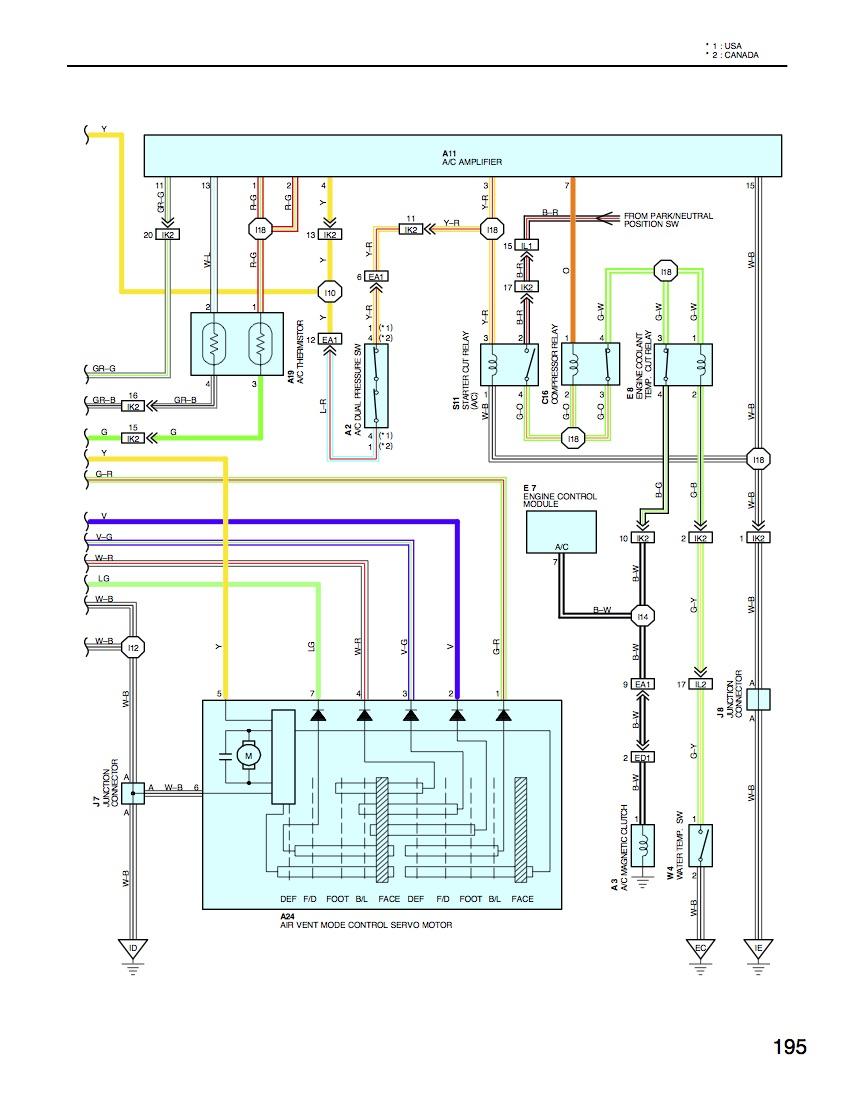 A C Amp Or Control Unit Ih8mud Forum Toyota Land Cruiser Wiring Diagrams 97lxac
