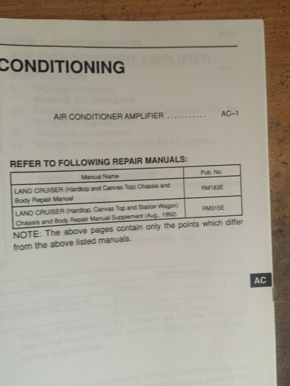 Toyota Vdj79r Air Con Amplifier Ih8mud Forum Fj60 Conditioner Wiring Diagram 99 Manual 002
