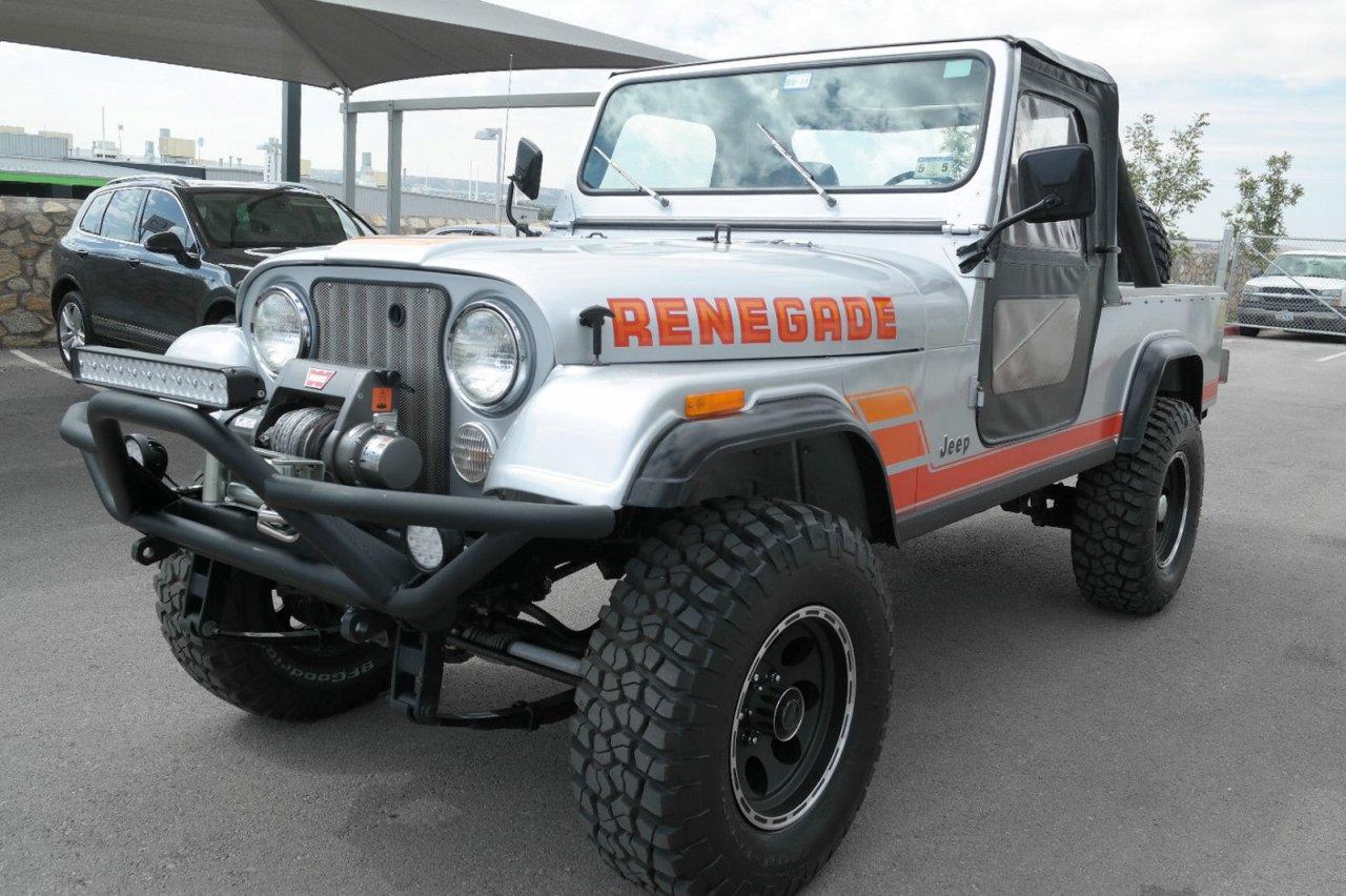 for sale 1985 jeep scrambler auto fi warn rebuilt austin tx ih8mud forum. Black Bedroom Furniture Sets. Home Design Ideas