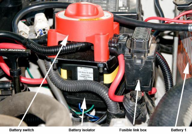 dual battery w  blue sea system acr  u0026 arb comp