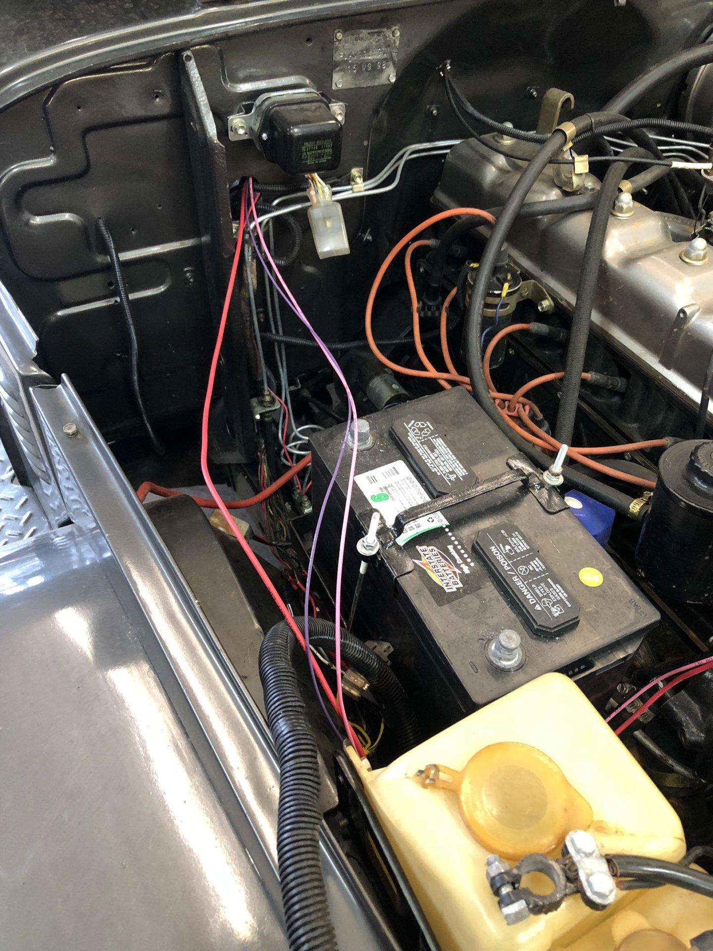 Rewiring A 1974 Toyota Land Cruiser Fj40 Using Kwik Wire Kit Wiring Harness Universal
