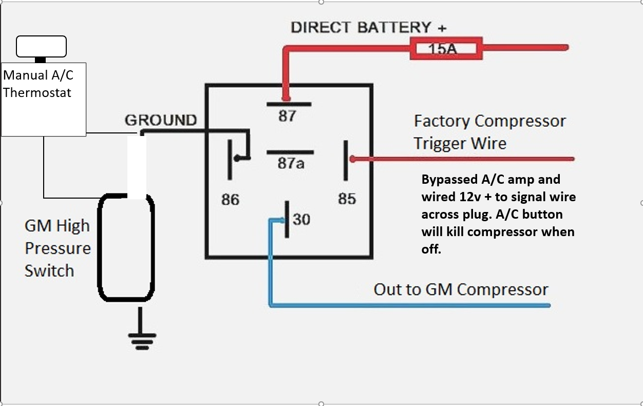 Gm Factory Wiring Diagram For Ac - Wiring Diagram K8 on