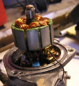 actuator motor armature installed.JPG