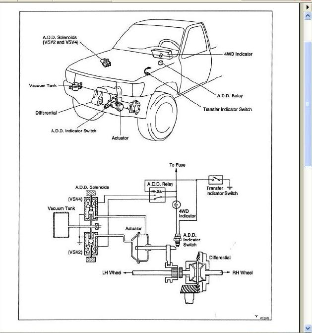 1997 toyota t100 fuse box diagram  toyota  auto wiring diagram