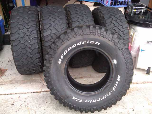 Used Mud Tires For Sale >> For Sale 5 Bfg Mt Km1 S 305 70r16 S One Never Used 200 Obo In