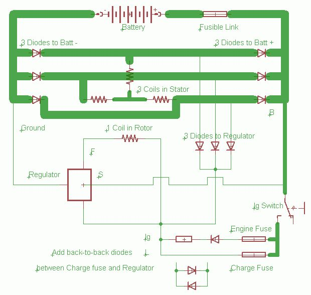 Diode Isolator Wiring Diagram : Isolation diode wiring diagram detector circuit