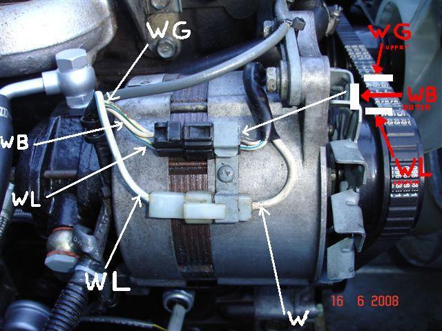 Hj75 Alternator Wiring Diagram - Wiring Diagram