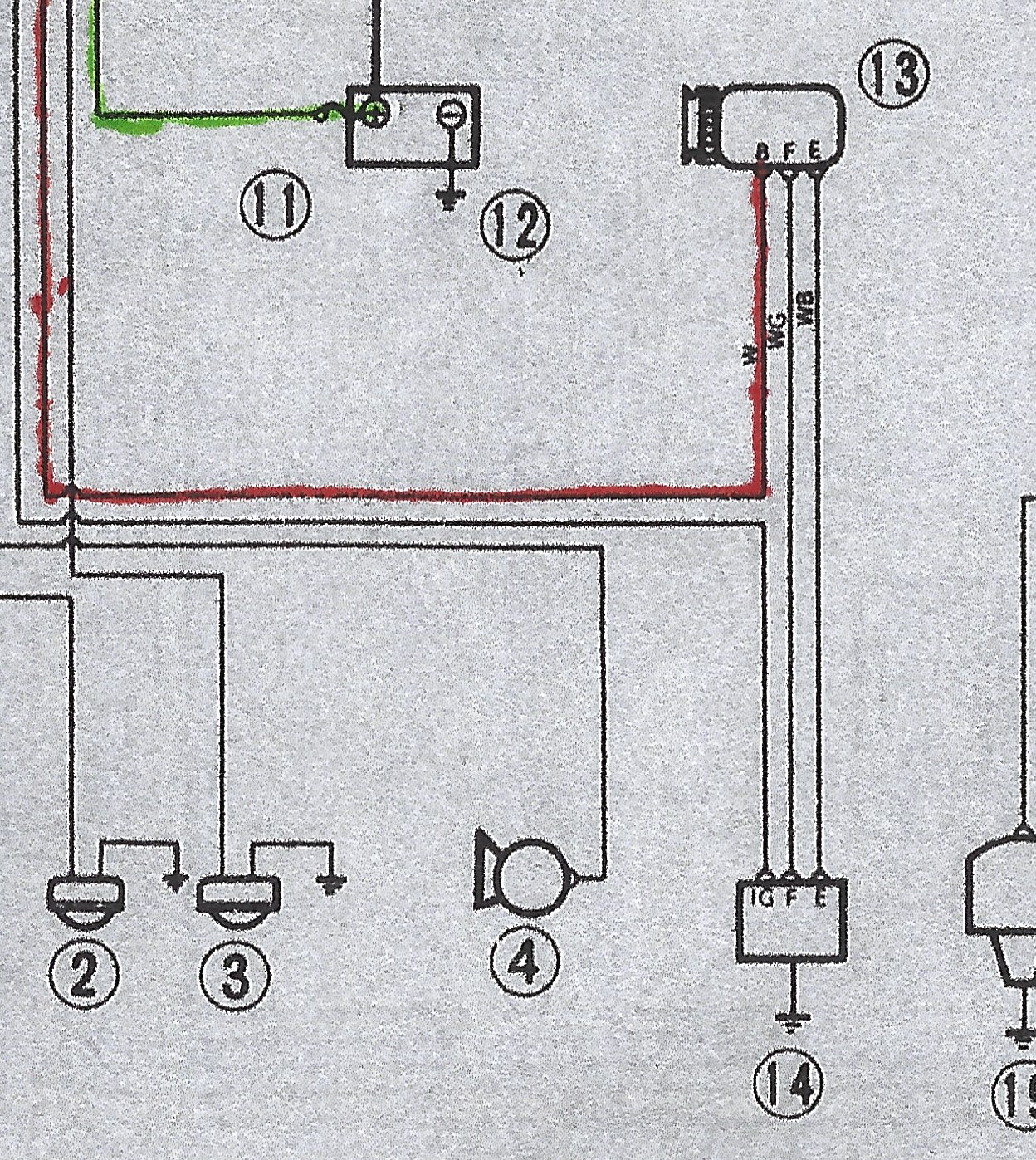 Externally Regulated New Alternator  Regulator  Ammeter Wiring