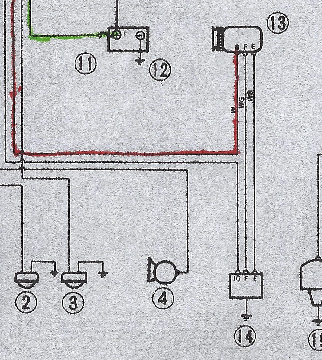 Externally Regulated New Alternator  Regulator  Ammeter