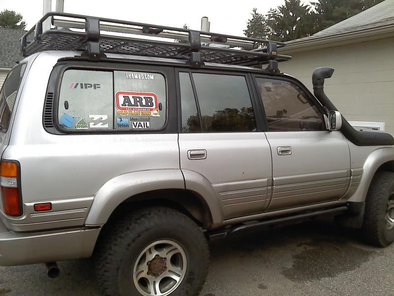 Ladder Roof Rack >> arb (aluminum) full roof rack pics   IH8MUD Forum
