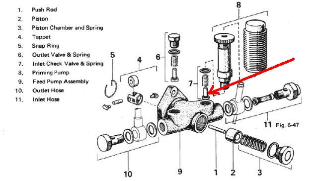 bosch primer pump