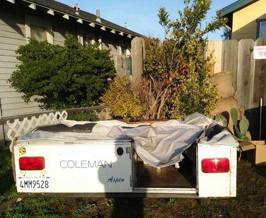 For Sale - 85 Coleman Aspen (Colorado) Pop Up Tent Trailer