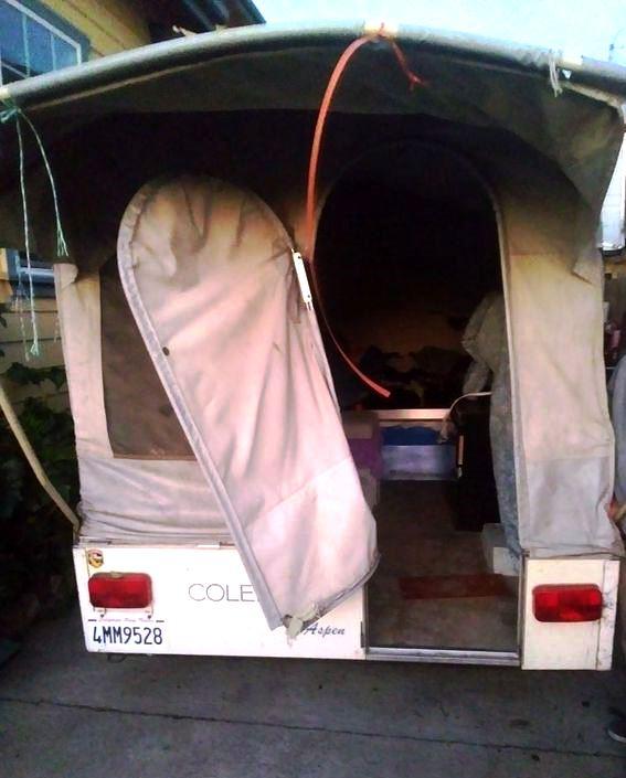 For Sale 85 Coleman Aspen Colorado Pop Up Tent Trailer