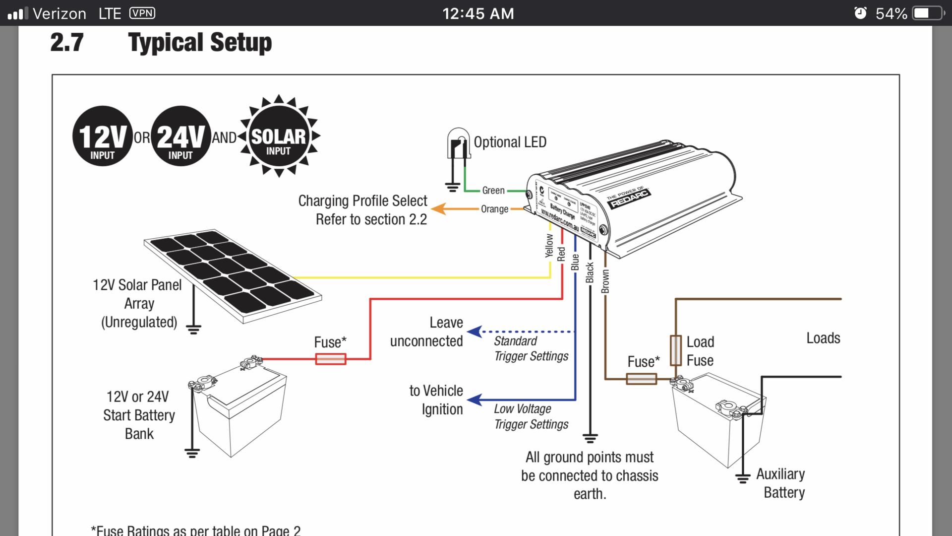 redarc bcdc1225 wiring diagram