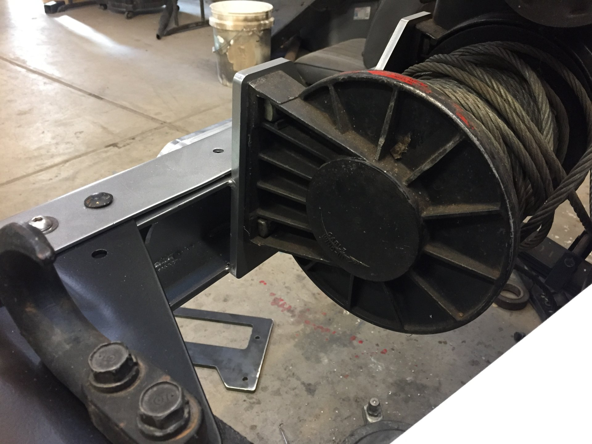 8274 Winch Mounting Plate | IH8MUD Forum