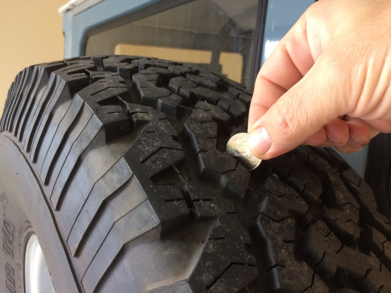 For Sale - BFG 33x9.5x15 All-Terrain tires for sale ...