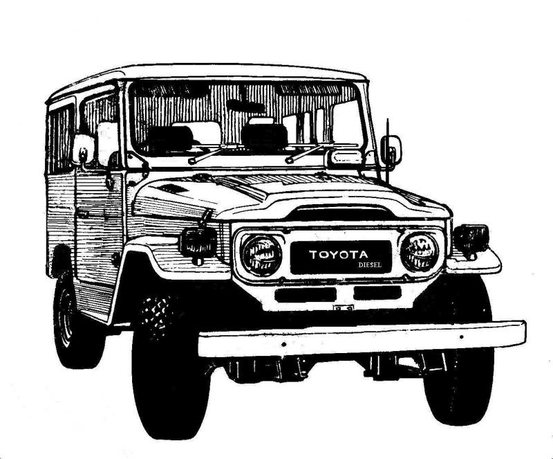 Show me a line drawing of a fj40 ih8mud forum