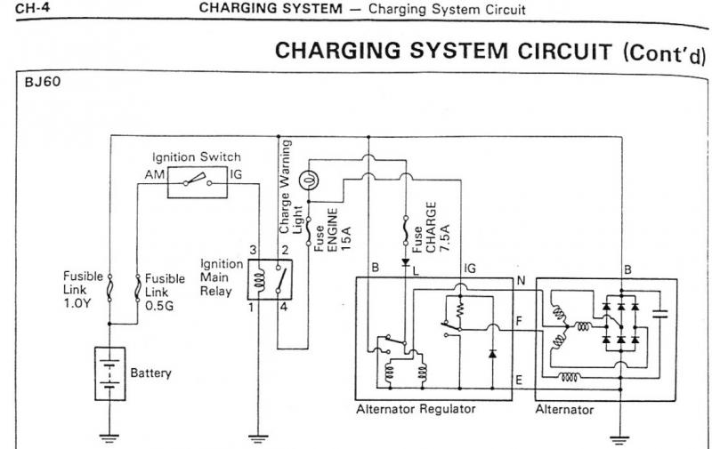 81 Toyota Pickup Alternator Wiring Diagram : Need help b alternator regulator ih mud forum