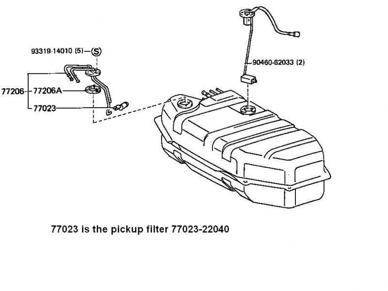 fuel tank inlet screen 13b