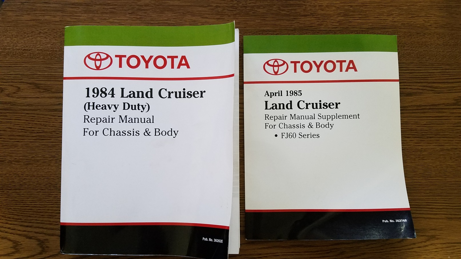 for sale fj60 factory service manual 85 supplement ih8mud forum rh forum ih8mud com Motorcycle Manual Clymer Manuals