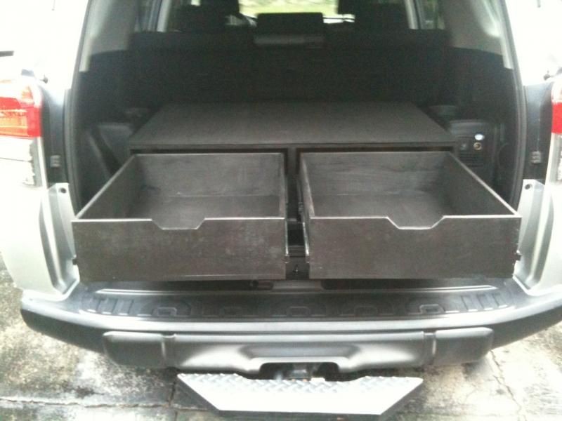 Suv With Third Row >> Weight of a drawer system in a 100? | IH8MUD Forum