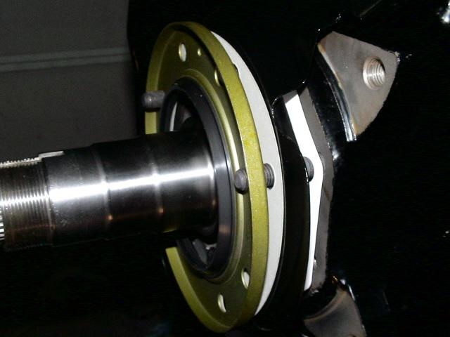 Brake dust shield paper gaskets seal order DSC00696.JPG